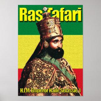 Zijn KeizerKeizer Haile Selassie I van de Majestei Poster