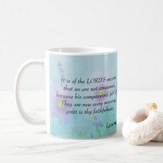 Zijn Medeleven ontbreekt niet - het 3:22,23 van Koffiemok