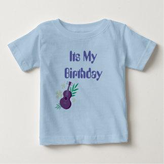 Zijn Mijn t-shirt van de Verjaardag met voor en