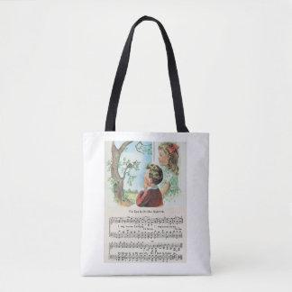 Zijn Oog is op het Canvas tas van de Mus