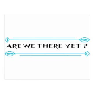 Zijn wij daar nog? briefkaart