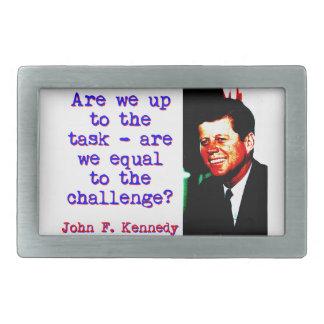 Zijn wij tot de Taak - John Kennedy Gespen