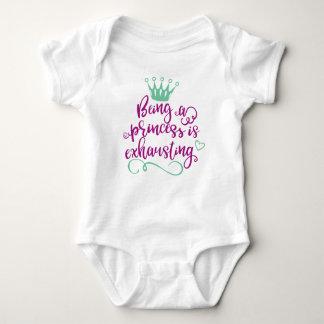 Zijnd Bodysuit van het Baby van de Prinses