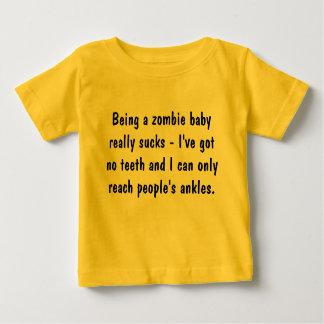 Zijnd een zombiebaby… baby t shirts