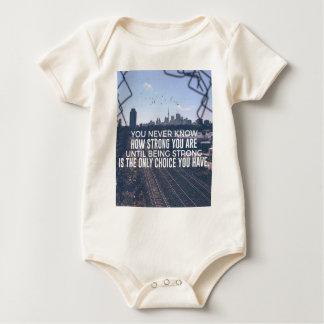 Zijnd Sterk is de Enige Keus Baby Shirt