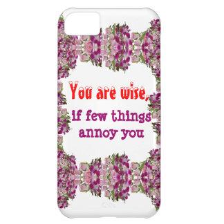 Zijnd Wijs - Woorden van wijsheid iPhone 5C Covers