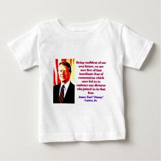 Zijnd Zeker van Onze Eigen Toekomst - Koevoet Baby T Shirts