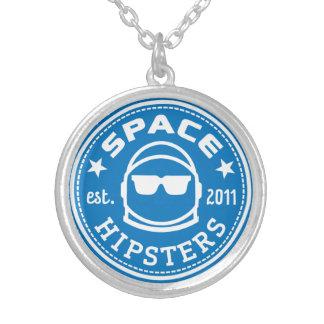 Zilver geplateerd RuimteHipsters logoketting Zilver Vergulden Ketting