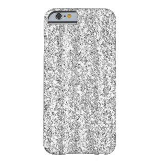 Zilveren Faux schittert iPhone 6 hoesje