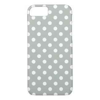 Zilveren Grijze iPhone 7 van de Stip Hoesje