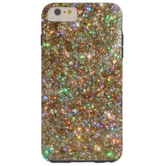 Zilveren Juweel iPHONE 6 van de Diamant van het Tough iPhone 6 Plus Hoesje