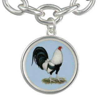 Zilveren Kemphaan Duckwing Armband