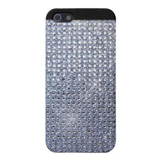 Zilveren Kristal iPhone 5 Covers
