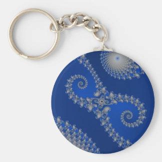 Zilveren Seahorse Keychain Sleutelhanger