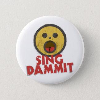 Zing Dammit Ronde Button 5,7 Cm