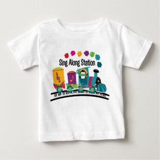 Zing langs Post Baby T Shirts