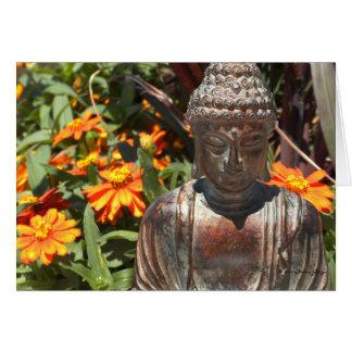 Zinnia Buddha Card Kaart