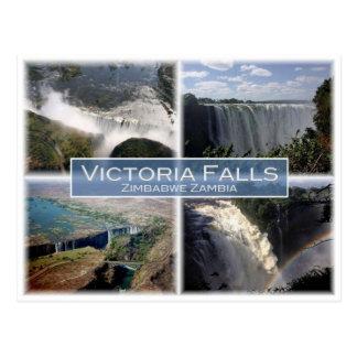 ZM Zambia - de Herfsten van Zimbabwe - van Briefkaart
