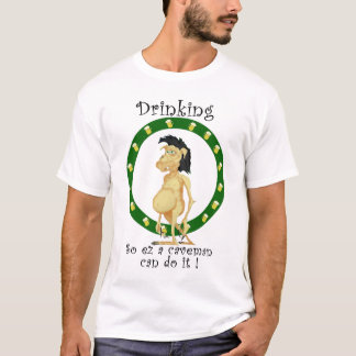 Zo het drink van ez een holbewoner kan het doen t shirt