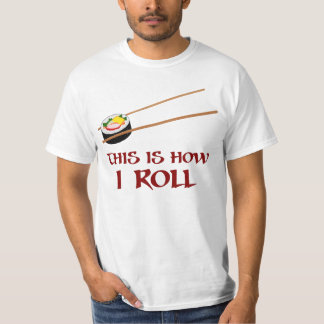 Zo I Broodje van Sushi T Shirt