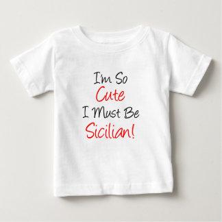 Zo Leuk moet Siciliaans zijn Baby T Shirts