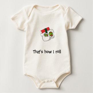 Zo rol ik baby shirt