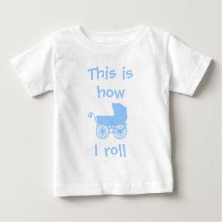 Zo rol ik babyt-shirt baby t shirts