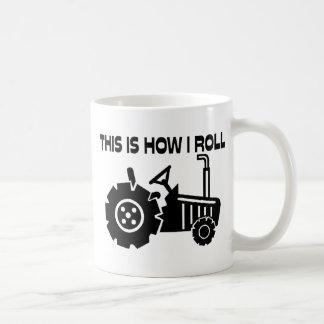 Zo rol ik de Tractor van de Landbouw Koffiemok