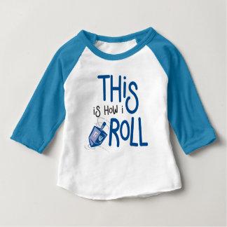 Zo rol ik de Uitrusting van het Baby van de Baby T Shirts