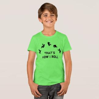 Zo rol ik Gymnastiek Parkour toejuich T Shirt