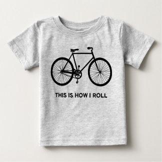 Zo rol ik het Cirkelen Baby T Shirts