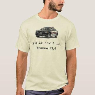 Zo rol ik t shirt