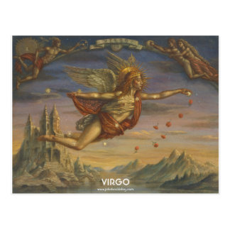 Zodiac Postcard - Virgo Briefkaart