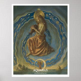 Zodiac Poster - Aquarius