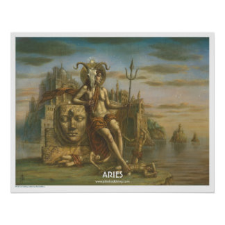 Zodiac Poster - Aries