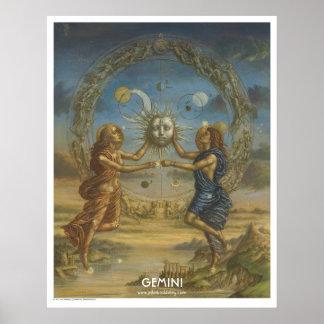 Zodiac Poster - Gemini