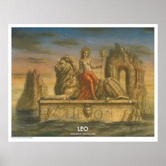 Zodiac Poster - Leo