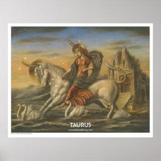 Zodiac Poster - Taurus