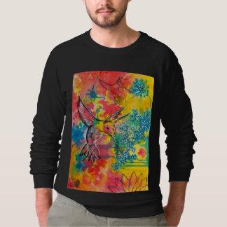 zoemende de kleurenoverhemden van het vogelwater sweater