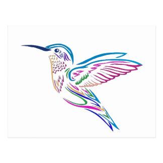 Zoemende Vogel Briefkaart