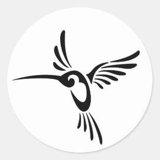 Zoemende Vogels Ronde Sticker