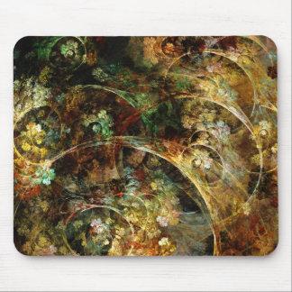 Zoet Abstract Fractal van de Herfst Art. Muismat