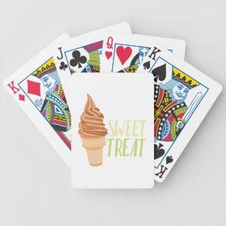 Zoet behandel pak kaarten