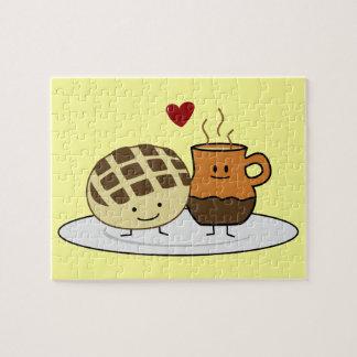 Zoet Brood en Hete Chocolade Puzzel