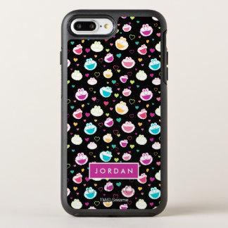Zoet Patroon | van het Hart van het Materiaal OtterBox Symmetry iPhone 8 Plus / 7 Plus Hoesje