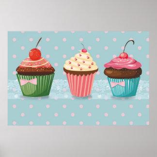 Zoet Poster Cupcake