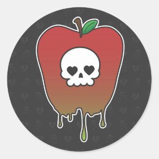 Zoet Vergift Ronde Sticker