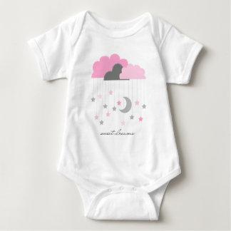 Zoete Bodysuit van het Meisje van het Baby van