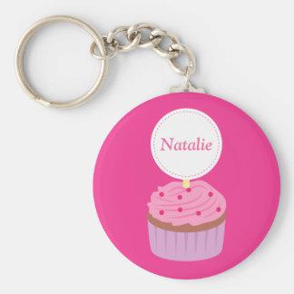 Zoete Cupcake, Roze, voor Meisjes Sleutel Hanger