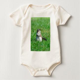 Zoete Eekhoorn Snacking Baby Shirt